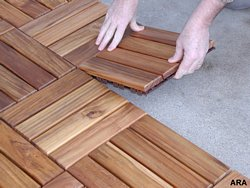 Modular Deck Tiles Go Anywhere Cut Deck Costs In Half