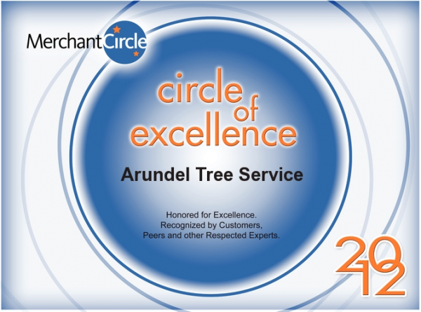 Circle of Excellence 2012 - Arundel Tree Service